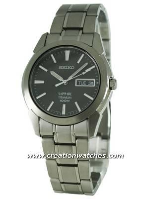 Seiko Titanium Sapphire SGG731P1 SGG731 SGG731P Men's Watch