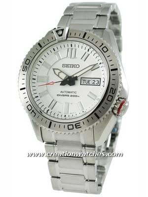 Seiko Diver's 200m Automatic SKZ323K1 SKZ323K SKZ323 Men's Watch