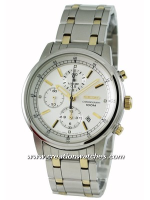Seiko Chronograph SNDC29P1 SNDC29P SNDC29 Men's Watch