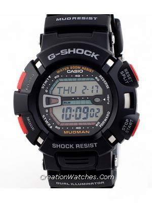 Casio G-Shock Mudman G-9000-1V G9000-1V G-9000 G-9000-1 G9000-1 G9000