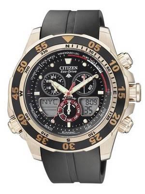 Citizen Eco-Drive Promaster Chronograph World Time JR4046-03E JR4046 Men's Watch