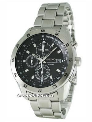 Seiko Chronograph SNDC43P1 SNDC43 SNDC43P Men's Watch