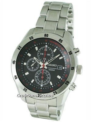 Seiko Chronograph SNDC49P1 SNDC49 SNDC49P Men's Watch
