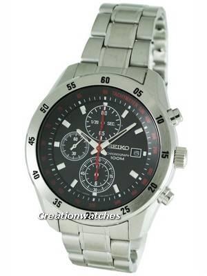 Seiko Chronograph SNDC49P1 SNDC49 SNDC49P Men's Watch