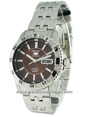 Seiko 5 Sports Automatic SNZJ25K1 SNZJ25 SNZJ25K Men's Watch