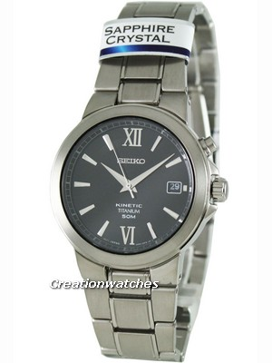 Seiko Kinetic Titanium SKA483P1 SKA483 SKA483P Men's Watch