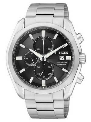Citizen Eco-Drive Chronograph Titanium CA0021-53E/CA0020-56E Men's Watch