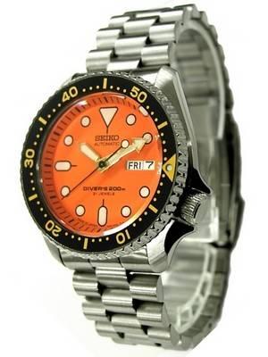 Seiko Automatic Diver 200m SKX011J2 SKX011J SKX011 President Bracelet