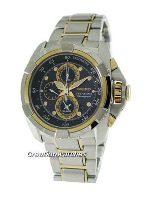 Seiko Velatura Alarm Chronograph SNAD80P1 SNAD80 SNAD80P Men's Watch