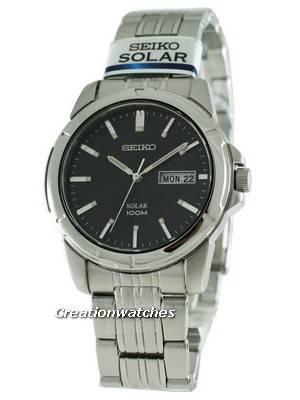 Seiko Solar Quartz SNE093P1 SNE093 SNE093P Men's Watch