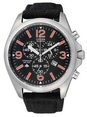 Citizen Eco-Drive Chronograph Titanium AT0660-13E AT0660 Men's Watch