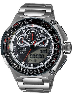 Citizen Promaster Chronograph JW0051-55E JW0051 World Time Men's Watch