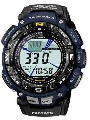 Casio Protrek Triple Sensor PRG-240B-2DR PRG-240B-2D PRG-240B-2 Men's Watch
