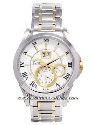 Seiko Premier Kinetic Perpetual Calendar SNP022P1 SNP022 SNP022P watch
