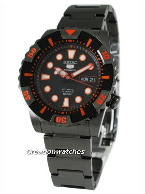 Seiko 5 Sports Automatic SNZJ21K1 SNZJ21 SNZJ21K Men's Watch