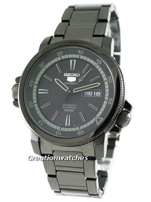 Seiko 5 Sports Automatic SNZJ67K1 SNZJ67 SNZJ67K Men's Watch