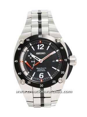 Seiko Kinetic Sportura Direct Drive Watch SRG005P1 SRG005P SRG005