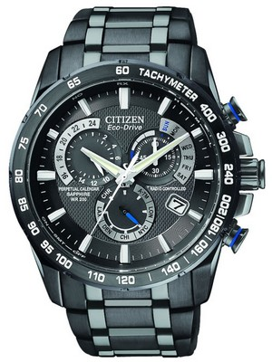 Citizen Atomic Perpetual Eco-Drive Chronograph AT4007-54E Mens Watch