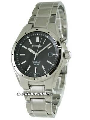 Seiko Kinetic Titanium SKA493P1 SKA493P SKA493 Mens Watch