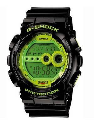 Casio G-Shock GD-100SC-1D GD100 Sports Digital Mens Watch