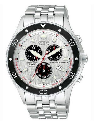 Citizen Eco-Drive Perpetual Calendar Chronograph BL5290-59A Mens Watch