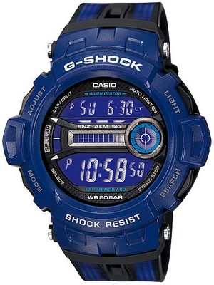 Casio G-Shock GD-200-2DR GD-200-2 Mens Watch