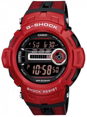 Casio G-shock GD-200-4DR GD-200-4 Mens Watch