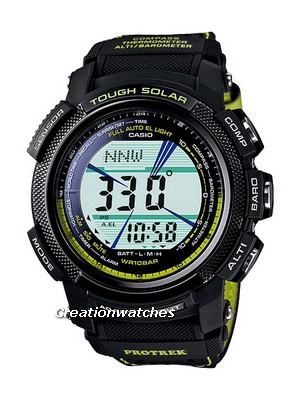 Casio Protrek Tough Solar Triple Sensor PRG-200GB-3 Mens Watch