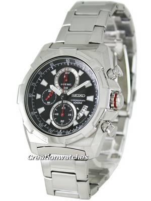 Seiko Quartz Chronograph SNDD49P1 SNDD49P Mens Watch