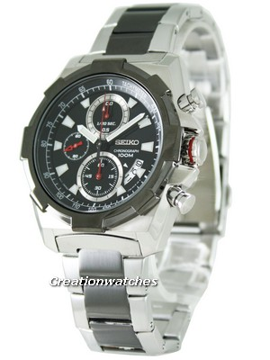 Seiko Quartz Chronograph SNDD51P1 SNDD51P Mens Watch