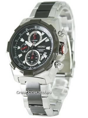 Seiko Quartz Chronograph SNDD51P1 SNDD51P Mens Watch