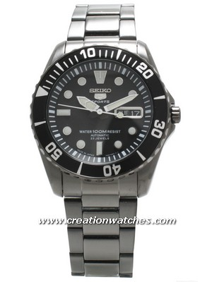 Seiko 5 Sports Diver's Automatic SNZF21K1 SNZF21K SNZF21 100M Men's Watch
