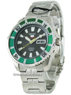 Seiko 5 Sports Automatic Divers SRP205K1 SRP205K Mens Watch