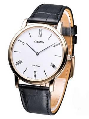 Citizen Eco-Drive Stilleto Super Thin AR1113-12B Mens Watch