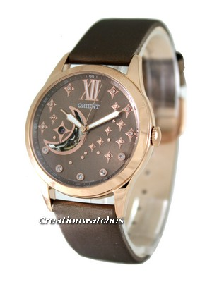 Orient Automatic Semi Skeleton FDB01009T0 Womens Watch