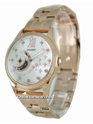 Orient Automatic Semi Skeleton FDB0100AW0 Womens Watch