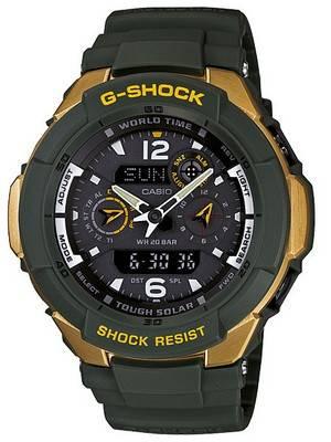 Casio G-Shock Gravity Defier G-1250G-1A G-1250G G-1250G-1 Mens Watch