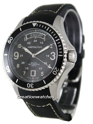 Hamilton Khaki King Pilot Black Chronograph H64515333 Mens Watch