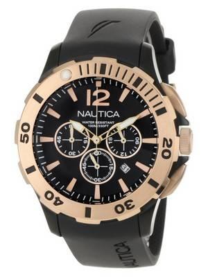 Nautica Black BFD 101 N19556G Men's Watch