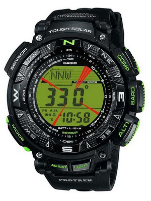 Casio Protrek Tough Solar PRG-240-1BDR Mens Watch