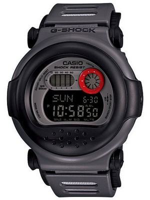 Casio G-Shock World Time Digital G-001-8C Mens Watch