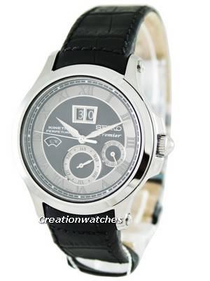 Seiko Kinetic Premier Perpetual Calendar SNP049P1 SNP049 SNP049P Mens Watch