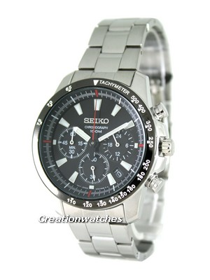 Seiko Neo Sports Chronograph SSB031P1 SSB031P SSB031 Mens Watch