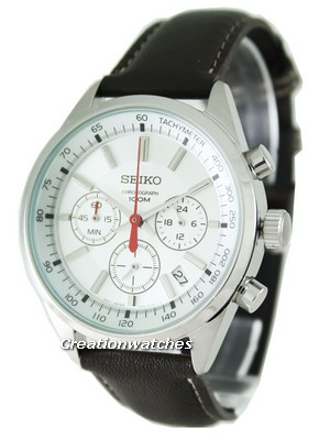 Seiko Classic Chronograph SSB035P2 Mens Watch