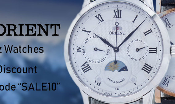 Newsletter : Orient Quartz Watches On Sale – Additional 10% discount code inside!!!