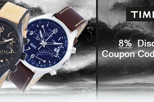 Timex Watches On Sale – Additional 8% discount code inside!!!