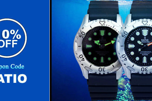 Introducing Ratio Free Diver Watches