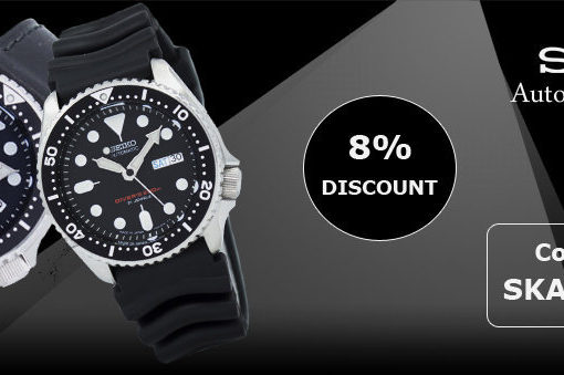 Seiko Automatic Watches On Sale – Additional 8% discount code inside!!!