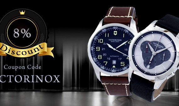 Victorinox Watches On Sale – Coupon Code For Discount Inside!!