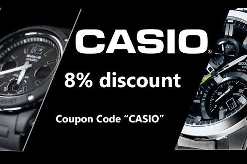 Casio Watches on Sale – Discount coupon inside!!!